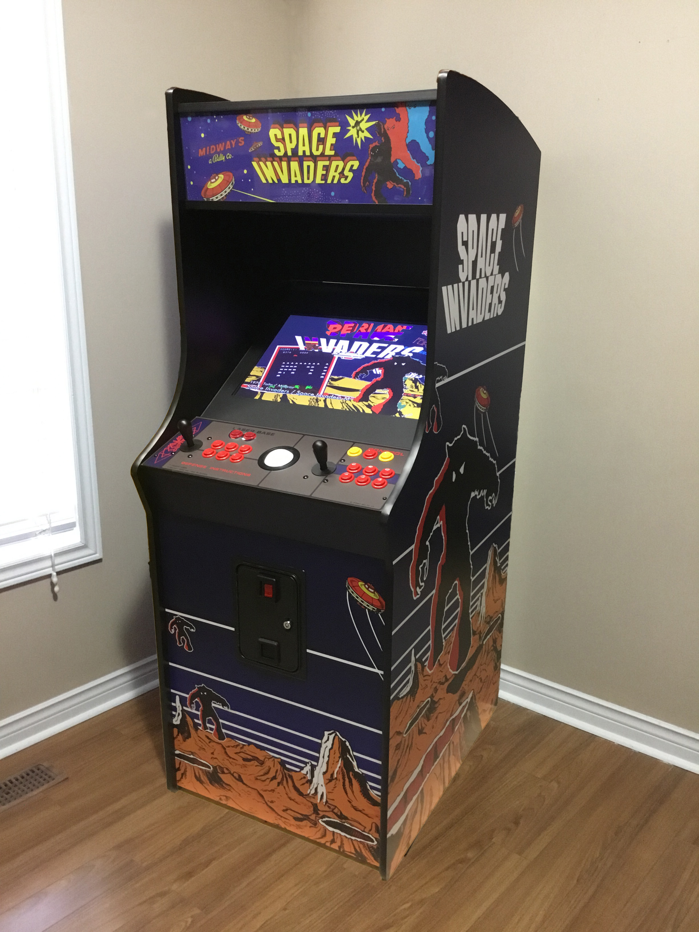 Full Size Arcade 24 Premium Play The Classics At Home